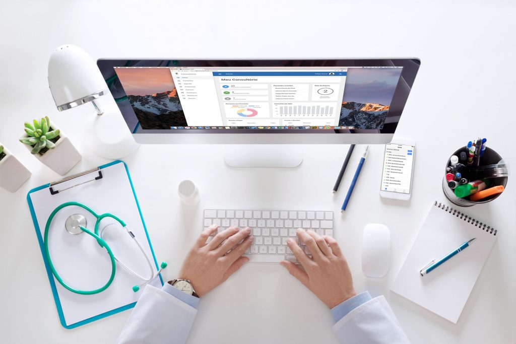 Sistema para clínica Consultório Live
