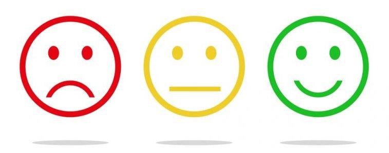 Pacientes tristes ou felizes de acordo com o atendimento