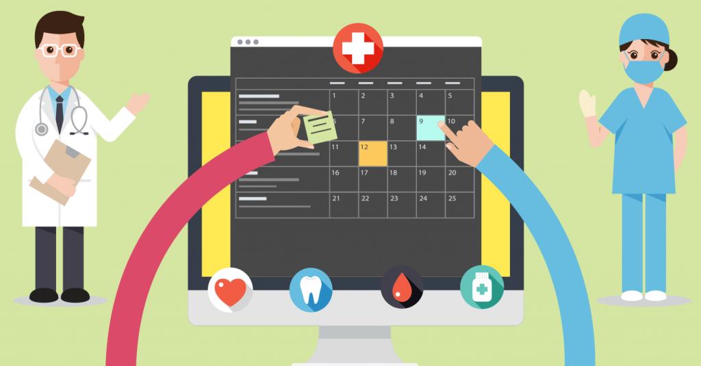 Sistema de agenda para consultório médico